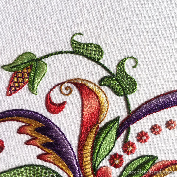 Silk Embroidery Project Sneak Peek