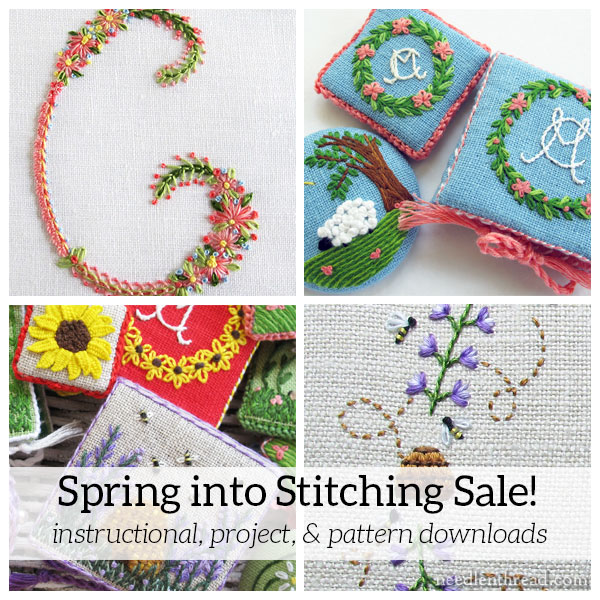 Spring Into Stitching Sale