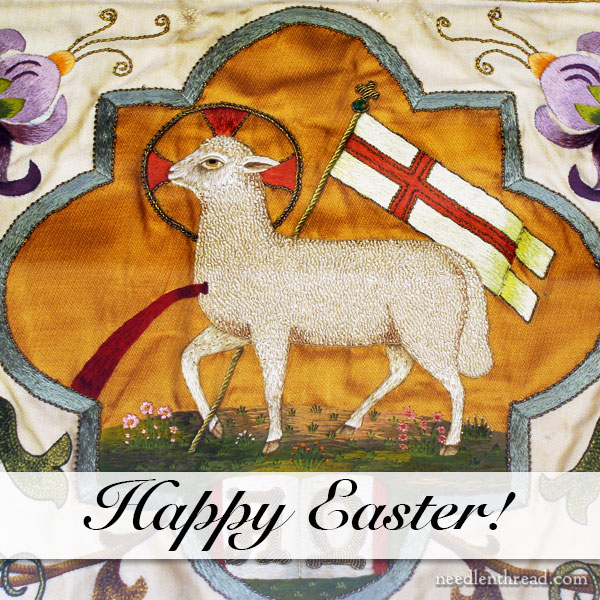 Happy Easter - Agnus Dei Embroidery