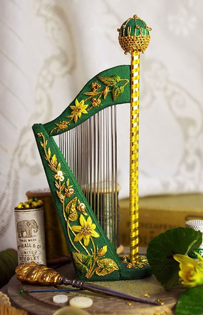 Harpe Needle Case by Jenny Adin-Christie