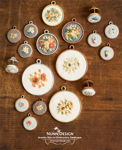 Nunn Designs Jewelry Findings for Embroidery