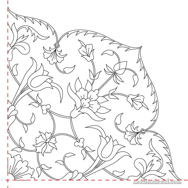 Tulips & Blooms Hand Embroidery Design