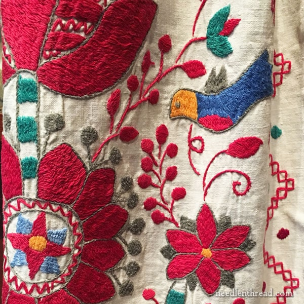 Museum of Russian Icons, Clinton MA - Ukrainian embroidery