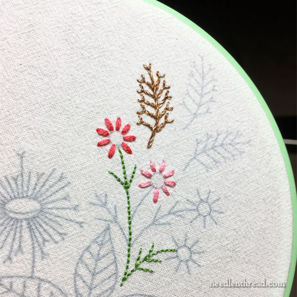 Embroidery Classes for Kids - Supplies & Preliminaries