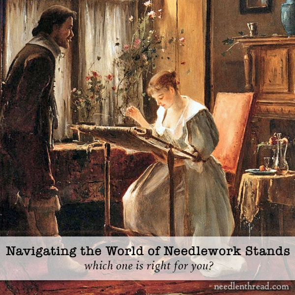 Needlework Stands - Overview of Different Types, Reviews