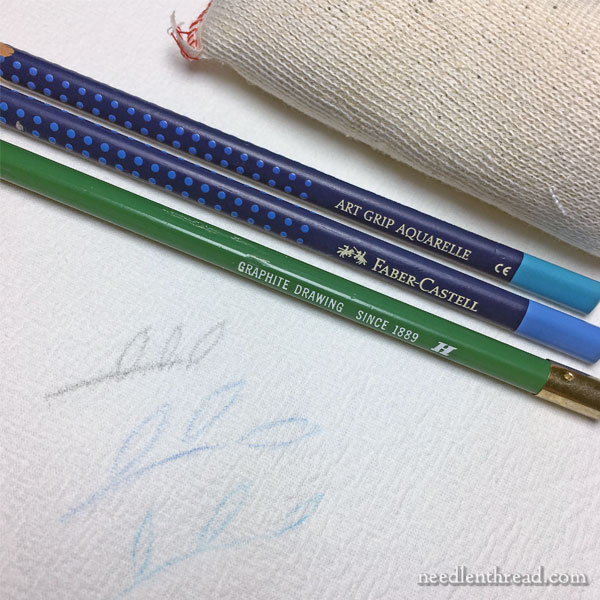 Removing Pencil Mistakes from Fabric