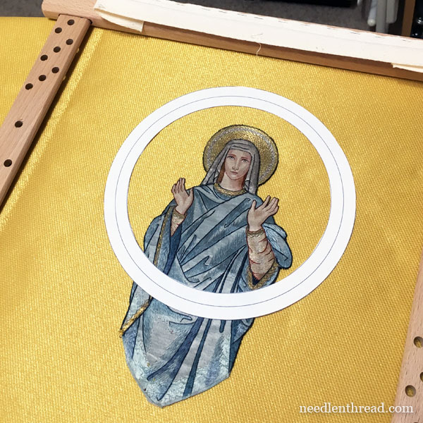 Salvaging Figure Embroidery: Ecclesiastical Embroidery