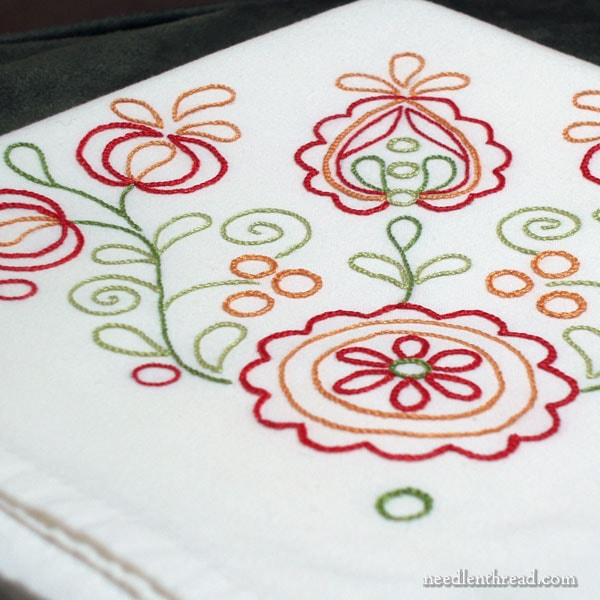Flour Sack Towels for Embroidery - Tips & Resources
