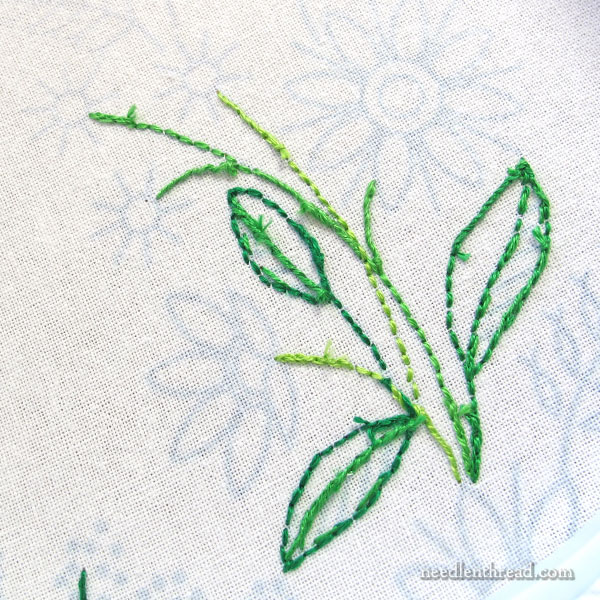 Back of Embroidery: Tips for Keeping it Neat