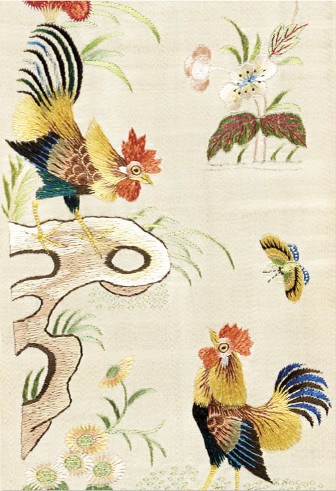 Embroidered Treasures: Birds