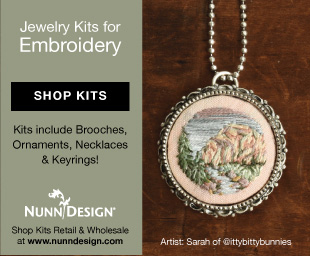 Nunn Designs Jewelry Kits for Embroidery