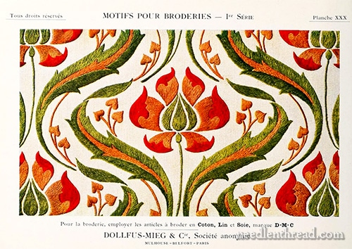 Therese de Dillmont Embroidery Books