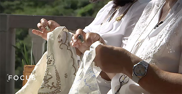Madeira Embroidery, handed down through generations