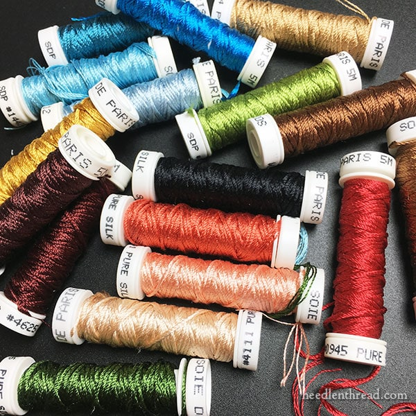 Silk Embroidery Threads for New Project
