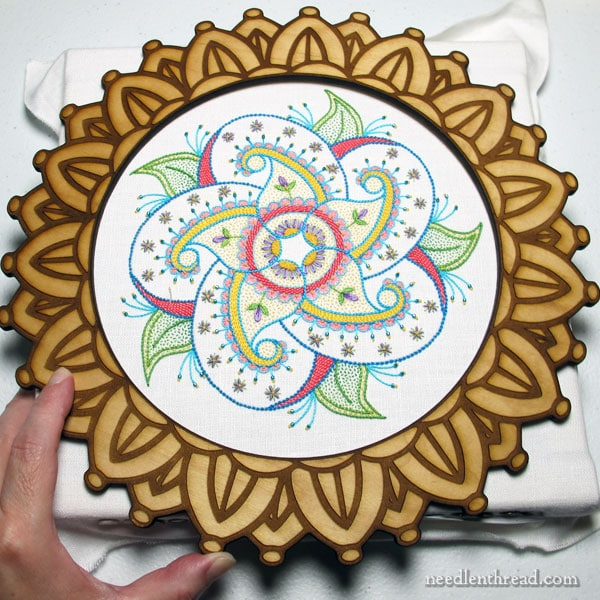 Decorative Hoop Frames for Embroidery Display