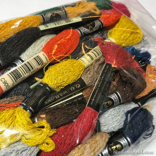 DMC Etoile: embroidery thread with sparkle