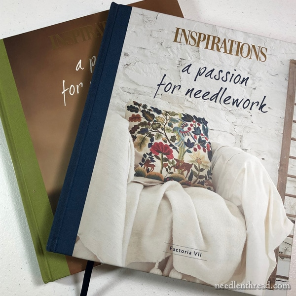 Passion for Needlework Factoria VII book review