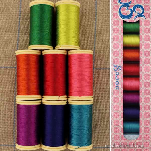 Sajou Silk Collection on Needle 'n Thread