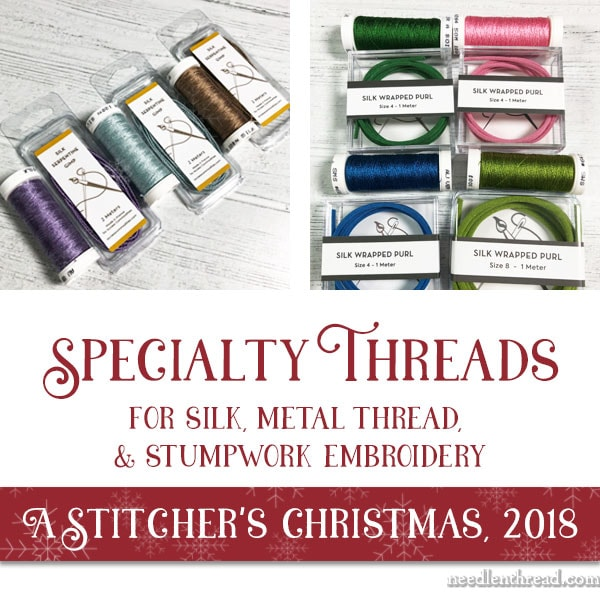 A Stitchers Christmas 2018 Silk Metal Specialty Threads