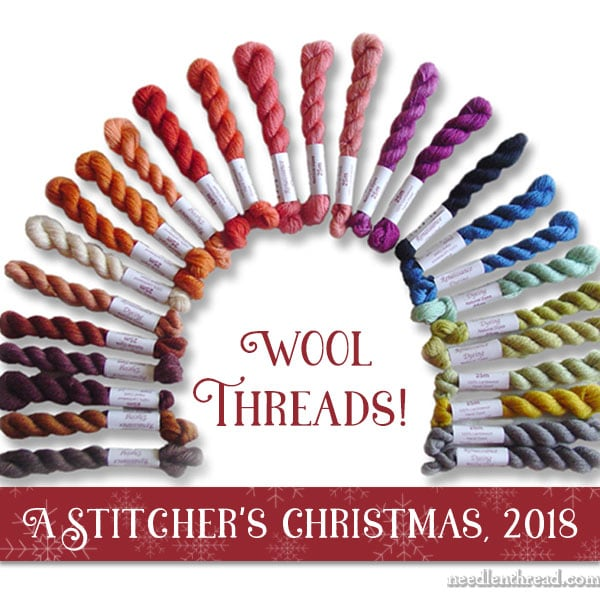 A Stitchers Christmas 2018 Wool Thread Collections