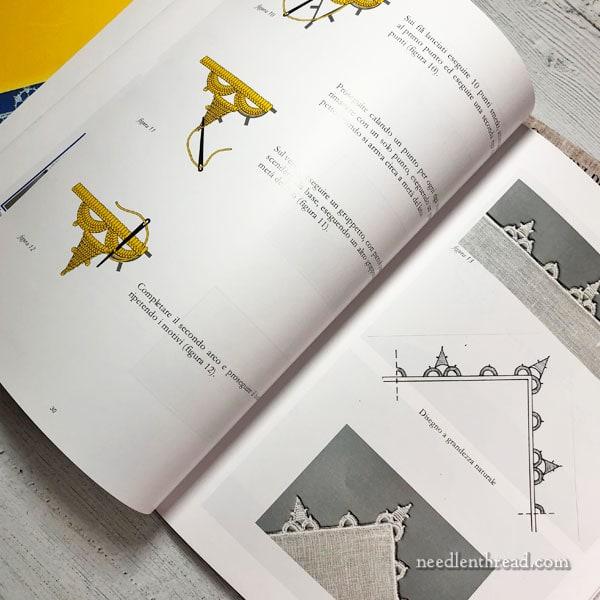 Aemilia Ars Italian needle lace books