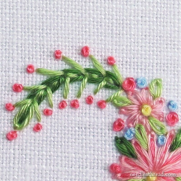 Stitch Fun Tutorial: Mock Wheatear Stitch