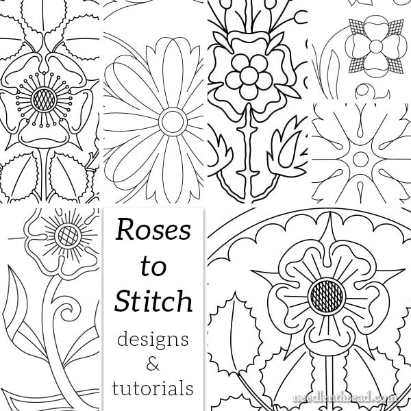 Roses to Stitch: Designs & Tutorials