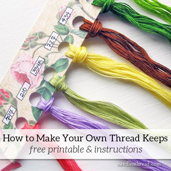 Thread Keeps by Kelmscott Designs