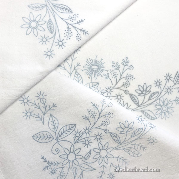 Floral Corners hand embroidery projects for beginners and beyond