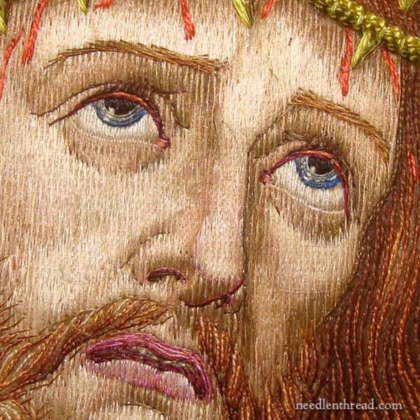 Ecce Homo in Figure Embroidery