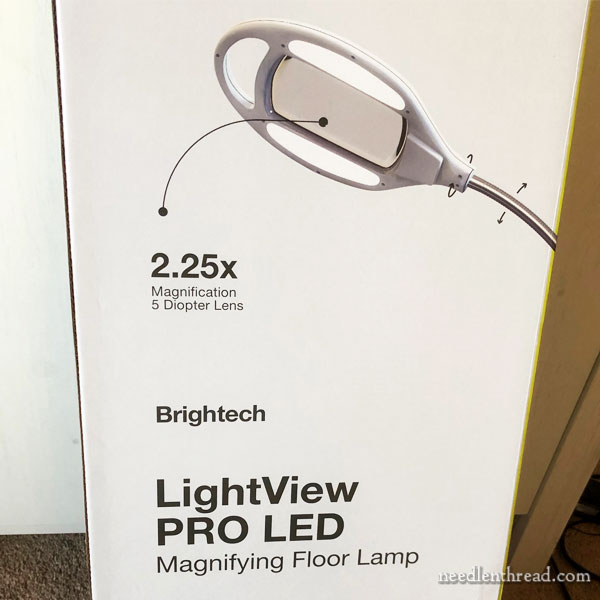 Brightech Magnifier Light Combo Review on Needle 'n Thread