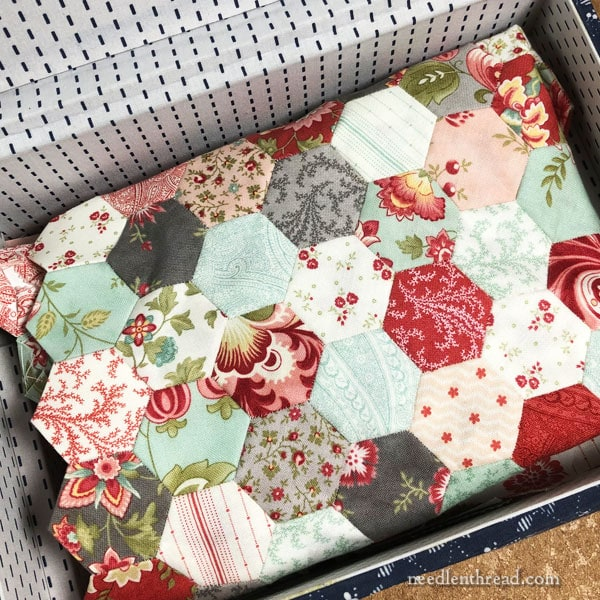 Hexagon Quilt - English Paper Piecing - Mary Corbet