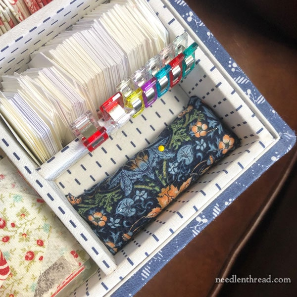 How to Make a Quick Pin Cushion for your Needlework Tool Box or Stitching Area