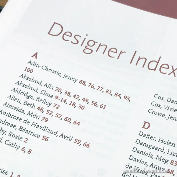 Inspirations Magazine Index 1-100