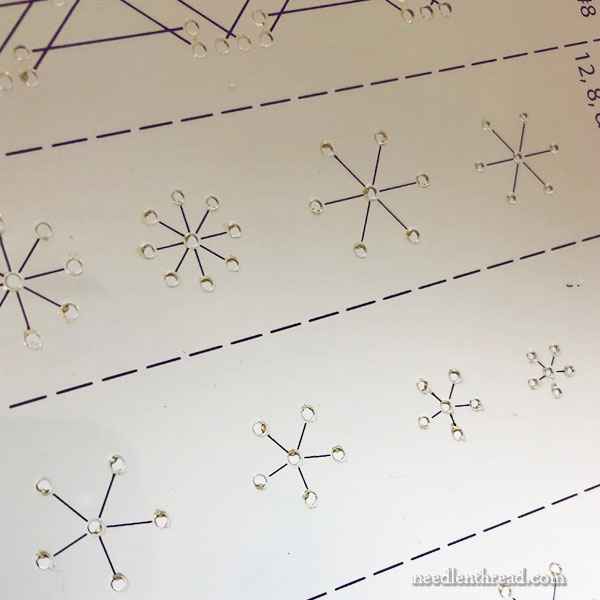 Embroidery Stitch Templates