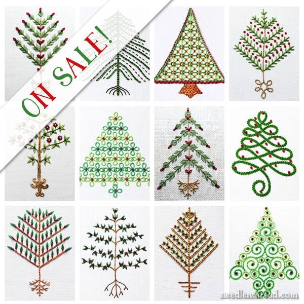 Twelve Trees for Christmas available on Needle 'n Thread