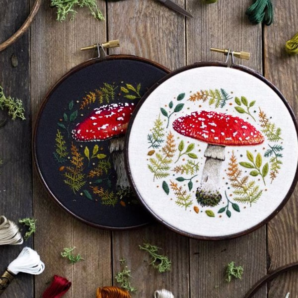 Embroidery by Emillie Ferris