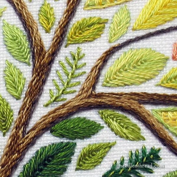 The Leafy Tree Embroidery Kit coming August 1