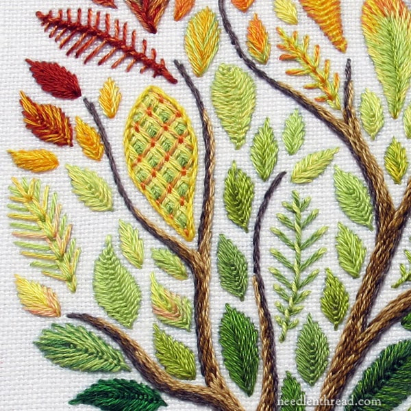 Leafy Tree Embroidery Kit - available August 1