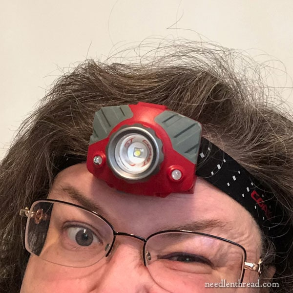 Coast Rechargeable Headlamp with Needlework