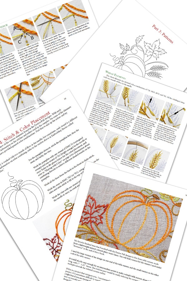 Festive Fall autumn designs e-book details