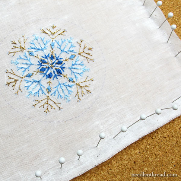 Damp Stretching Embroidery Tip