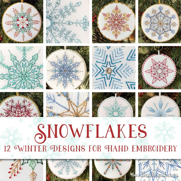 Snowflakes for Hand Embroidery