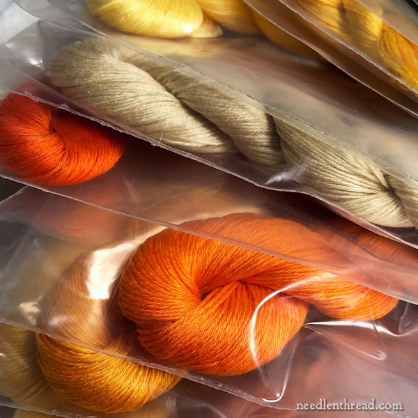 Stitcher's Christmas: Set of Floche embroidery thread