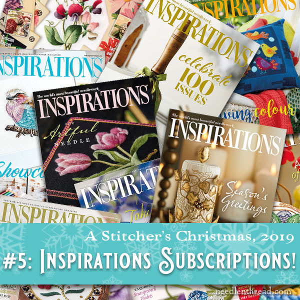 Stitcher's Christmas 2019: Inspirations Magazine gift subscriptions