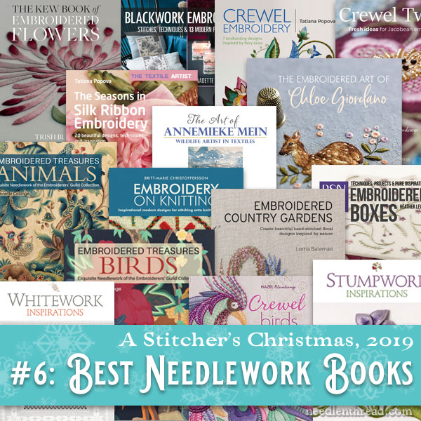 Stitcher's Christmas: Needlework books from Search Press