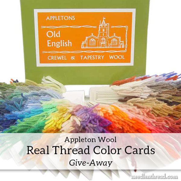 Appleton real thread color card give-away