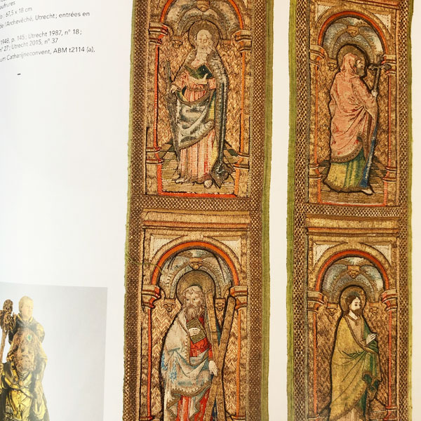 Embroidery Art in the Middle Ages