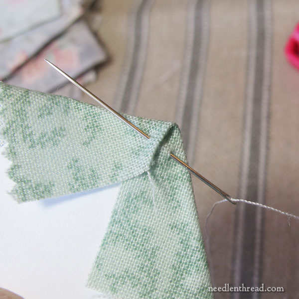 Hexie grab and go quilt project - my process