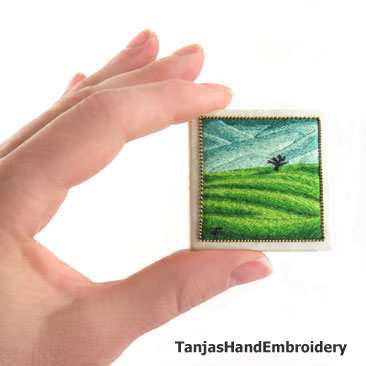 Needlepainted Landscapes online embroidery class